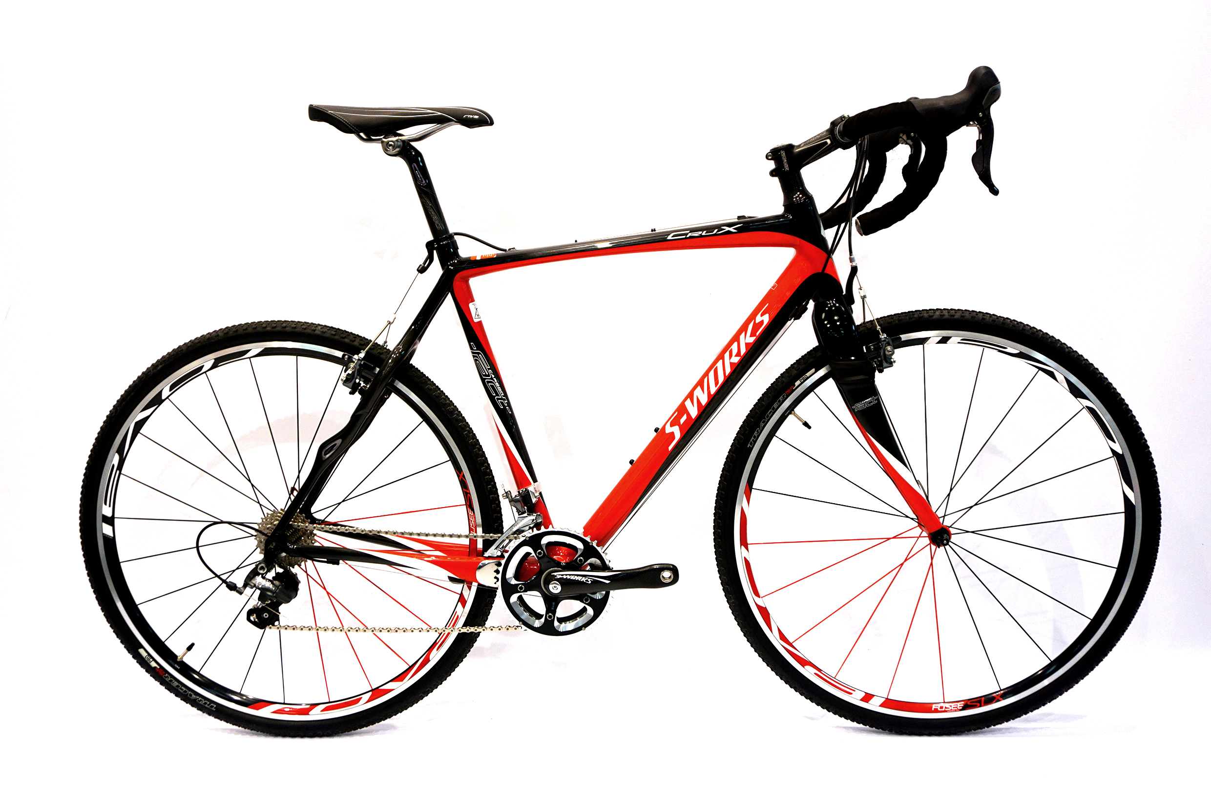 S-Works Crux Cyclocross Custom-Build Bike Red/Carbon/White 56cm ...