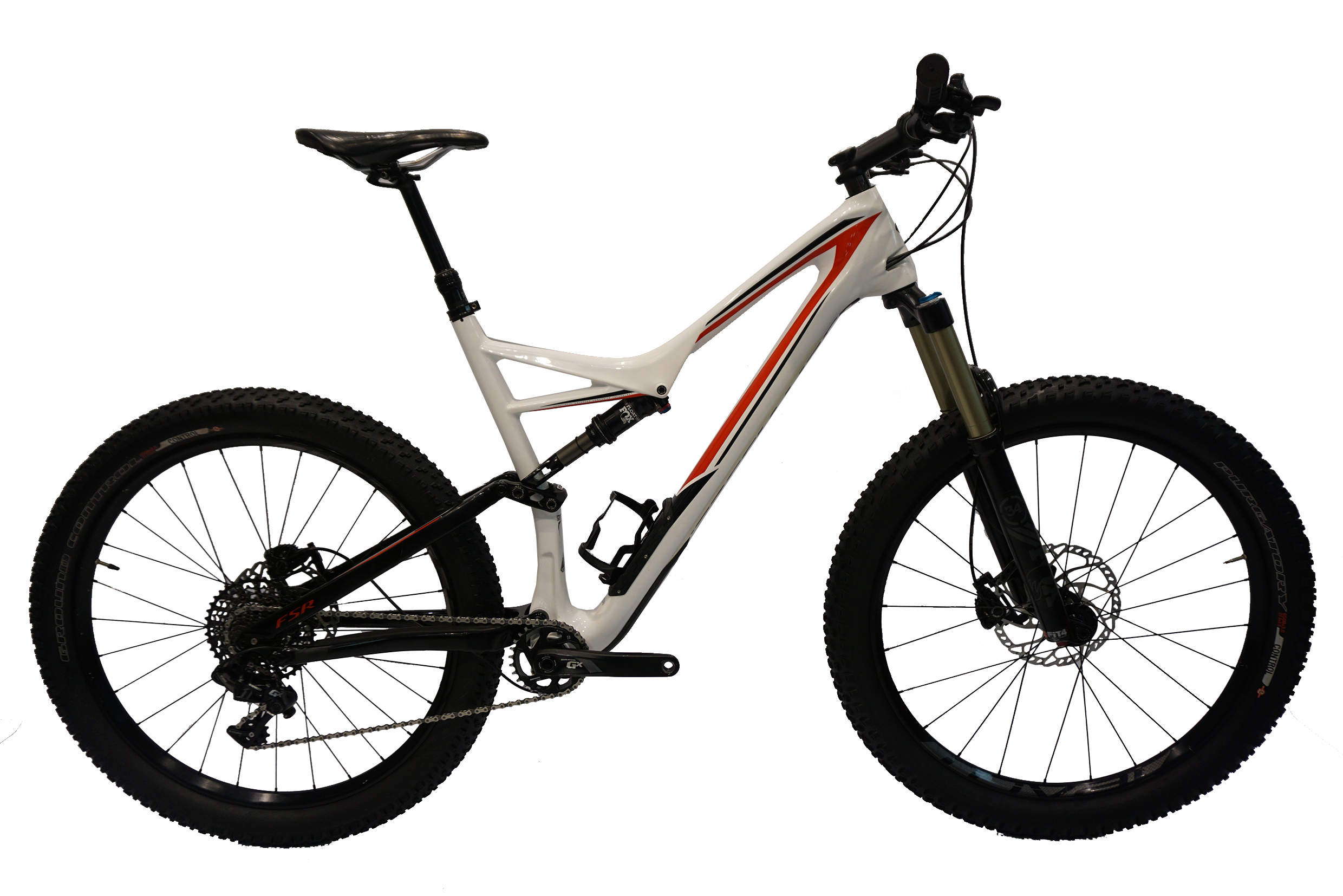 Specialized Stumpjumper FSR Comp Carbon 6Fattie Ex-Media MTB XL ...